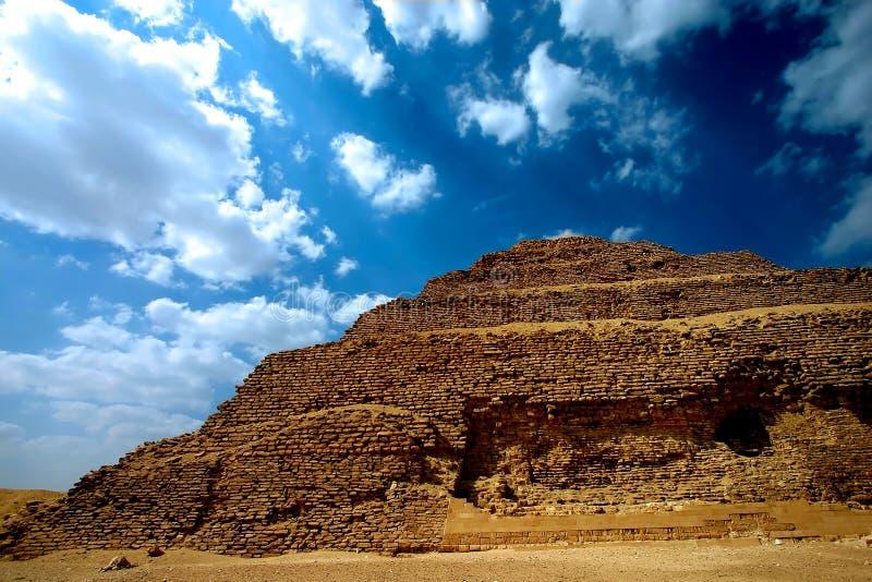 Download Zoser piramid stock image. Image of death, adventure, historical - 784315
