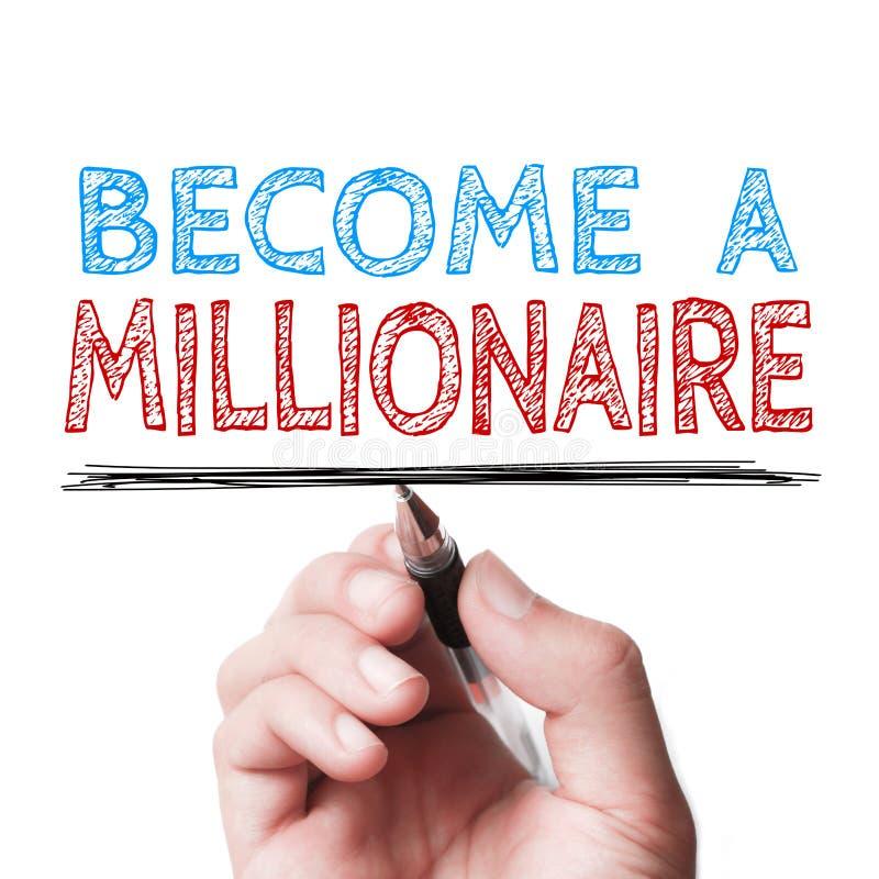 Zostać milioner zdjęcie royalty free