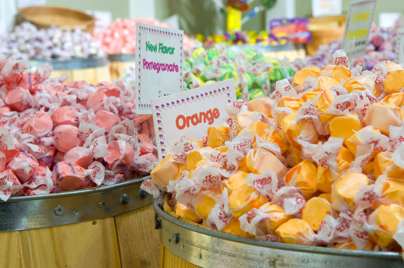 Zout Water Taffy royalty-vrije stock afbeelding