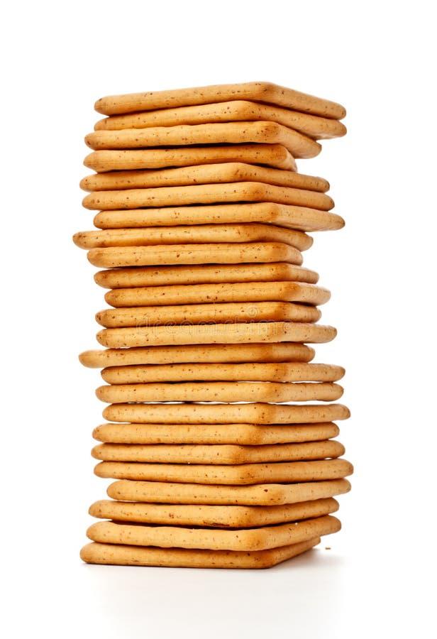 Zoute Crackers stock afbeeldingen