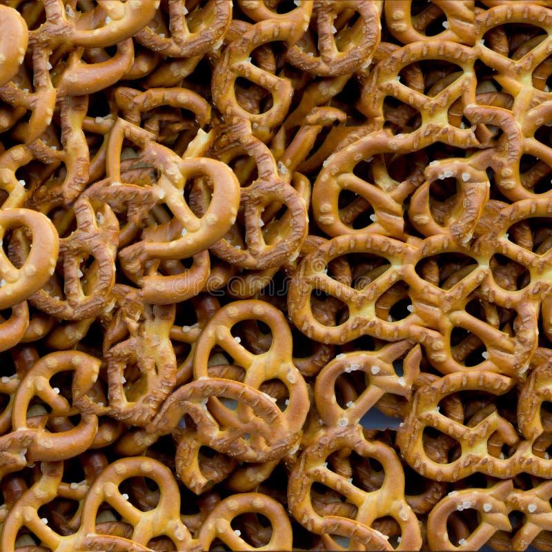 Zoute crackers royalty-vrije stock fotografie