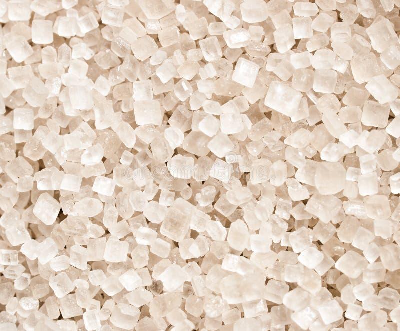 Zoute kristallen stock afbeelding