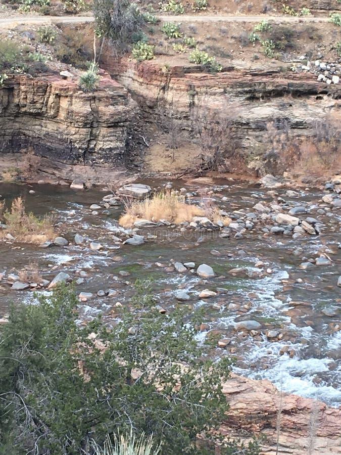 Zoute Rivier Arizona stock afbeeldingen