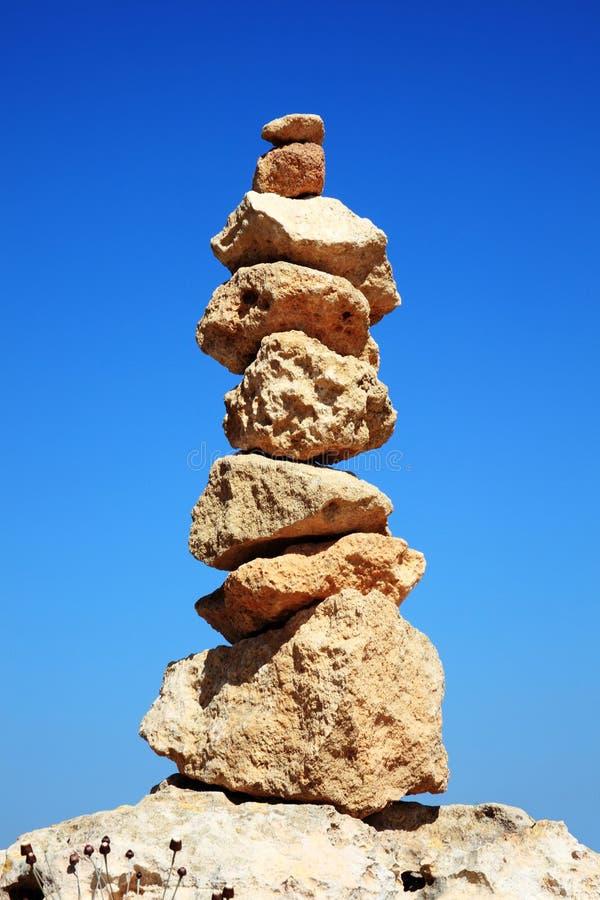 Zrównoważone skały zdjęcie stock
