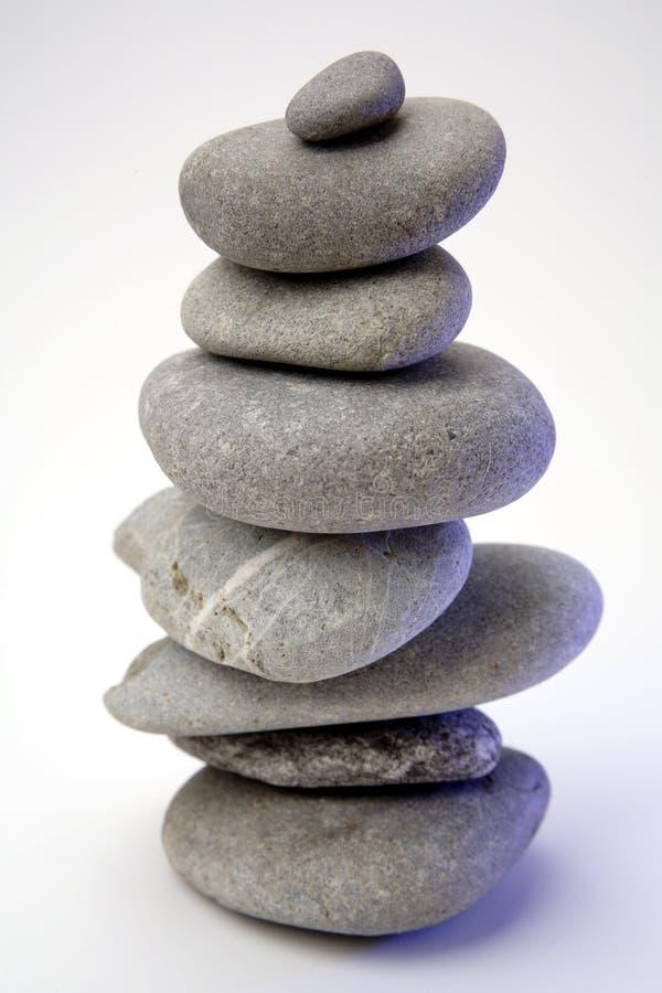 zrównoważyć kamienie obraz stock