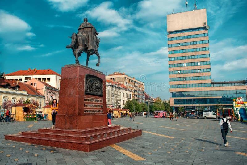 Zrenjanin, Sérvia - 19 de abril de 2019 foto de stock