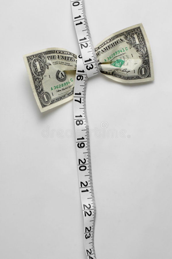 zrozumienia wyżej wycisnąć dolarów obraz stock