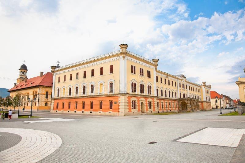 Zrzeszeniowy muzeum, Alba Iulia, Transylvania, Rumunia fotografia royalty free