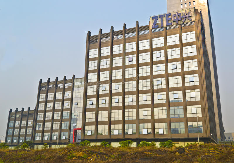 ZTE Office Building Editorial Photo