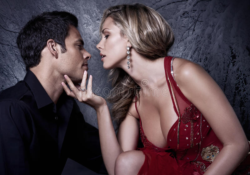 Zu küssen Nähern
