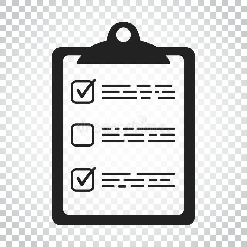 Download Zu Listenikone Tun Checkliste, Aufgabenlisten-Vektorillustration Im Fla Vektor Abbildung - Illustration von fragebogen, wahl: 96935801