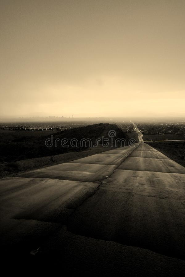 Zu versprechen Straße stockfotos
