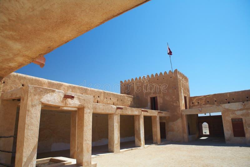 zubara форта стоковая фотография rf