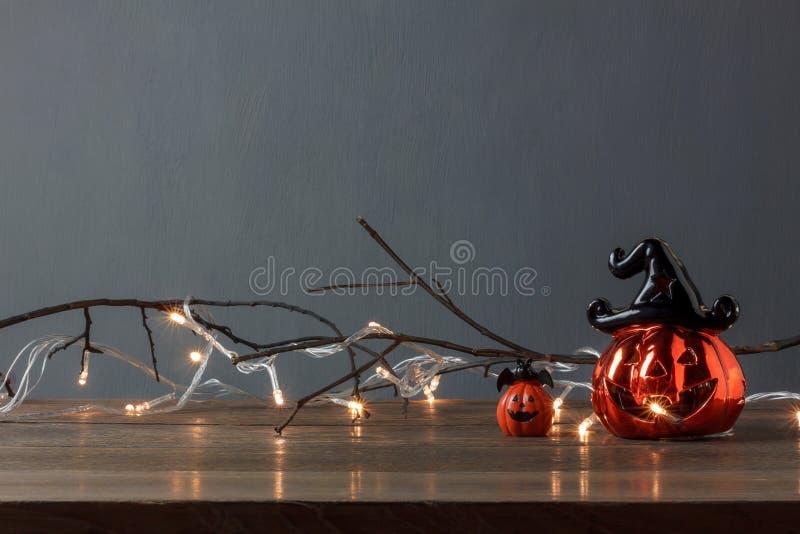 Zubehör Dekorationen des glücklichen Halloween-Festivalhintergrundkonzeptes lizenzfreies stockfoto