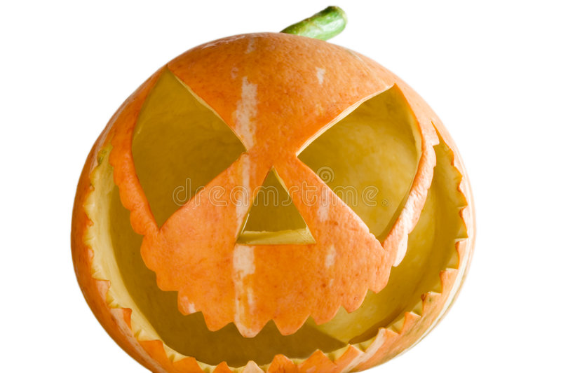 Download Zucca immagine stock. Immagine di frighten, festa, ombra - 3138701