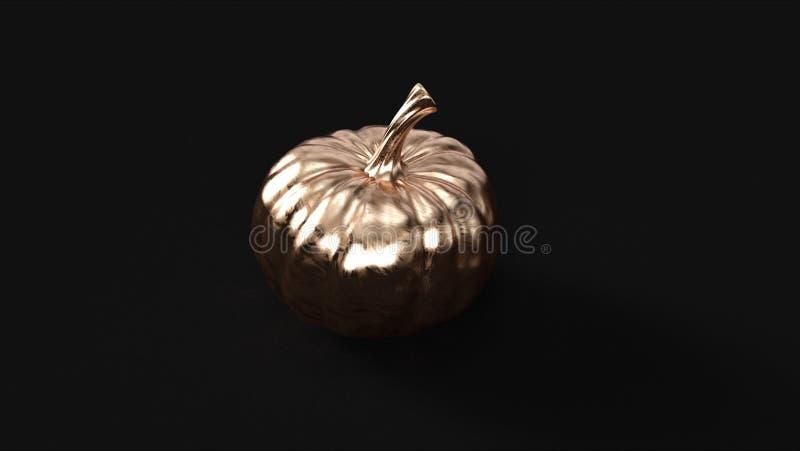 Zucca d'ottone bronzea immagine stock libera da diritti