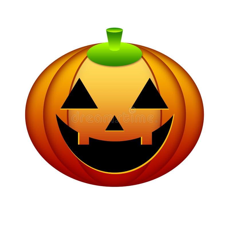 Zucca di Halloween [02] royalty illustrazione gratis
