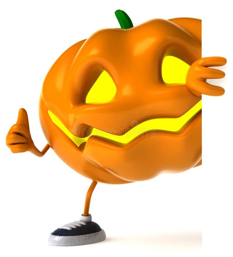 Zucca di Halloween royalty illustrazione gratis