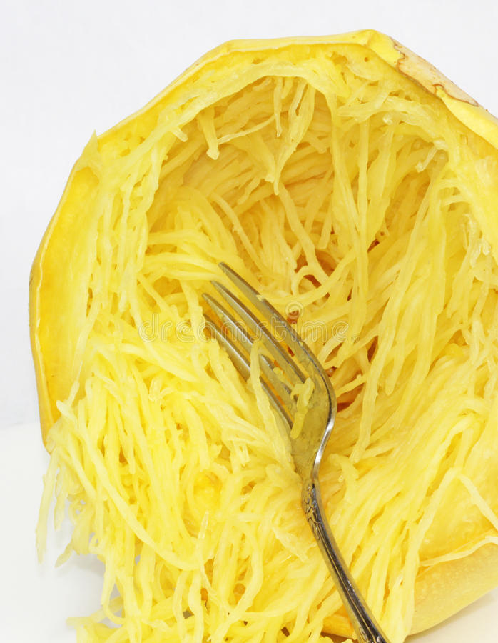 Zucca di spaghetti fotografia stock libera da diritti