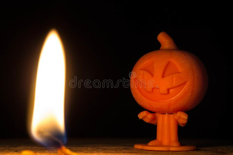 Zucca divertente Halloween fotografie stock libere da diritti
