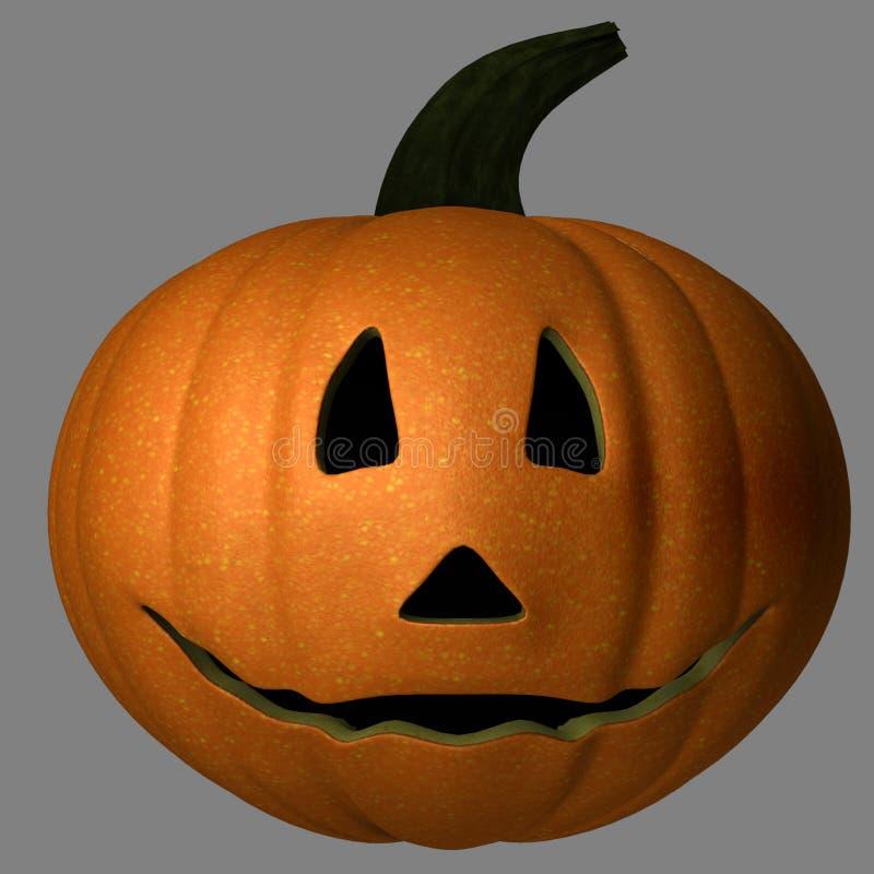 Zucca felice di Halloween immagine stock
