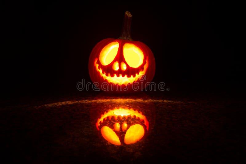 Zucca Halloween fotografie stock