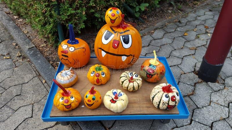 Zucche di Halloween fotografia stock libera da diritti