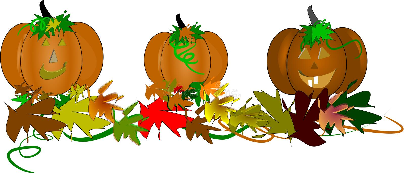 Zucche Toothy Per Halloween Fotografie Stock Libere da Diritti
