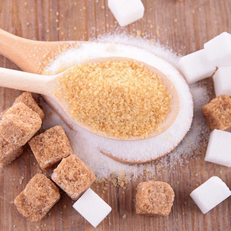 Zucchero immagini stock