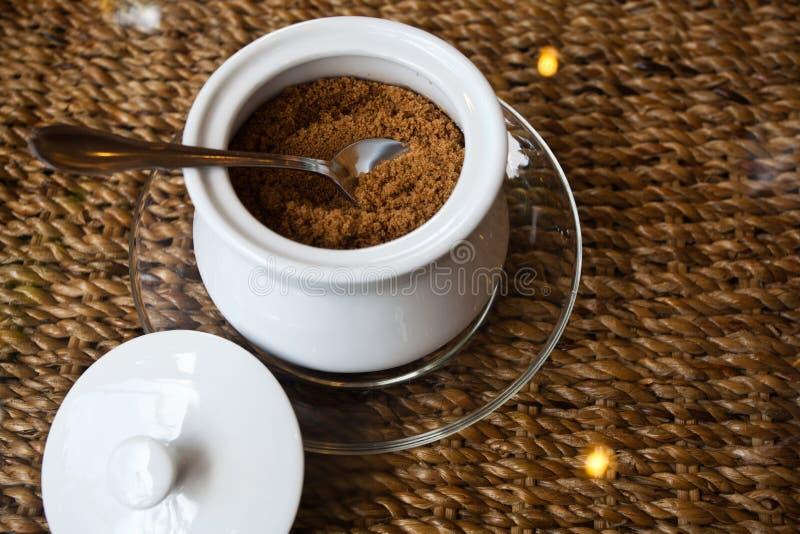 Zucchero del caffè fotografia stock