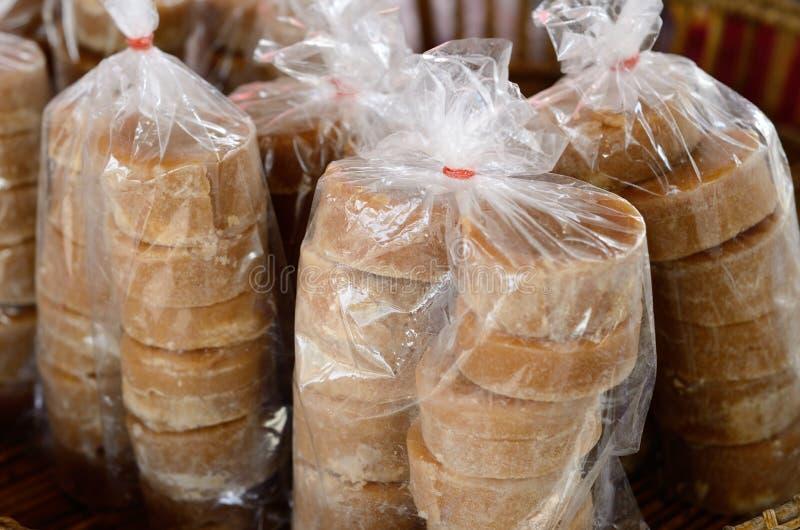 Zucchero della palma fotografie stock