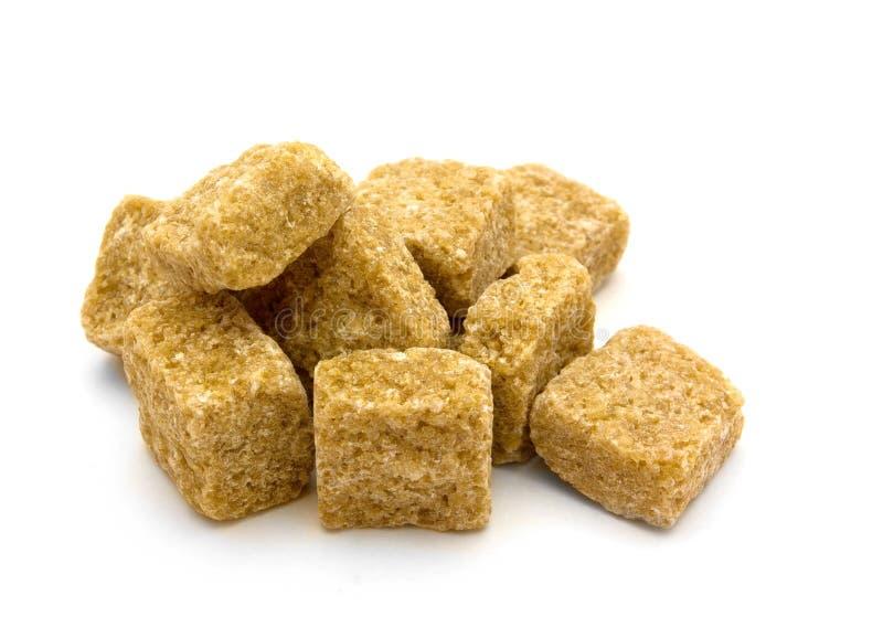 Zucchero di canna del Brown fotografia stock