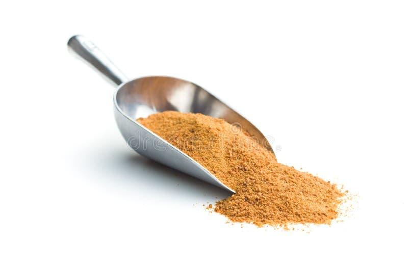Zucchero dolce della noce di cocco immagine stock libera da diritti