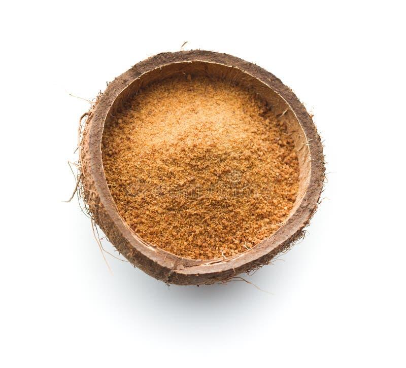 Zucchero dolce della noce di cocco fotografia stock libera da diritti