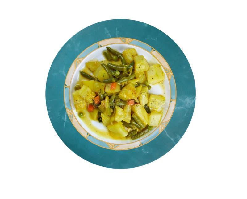 Zucchine en umido imagenes de archivo