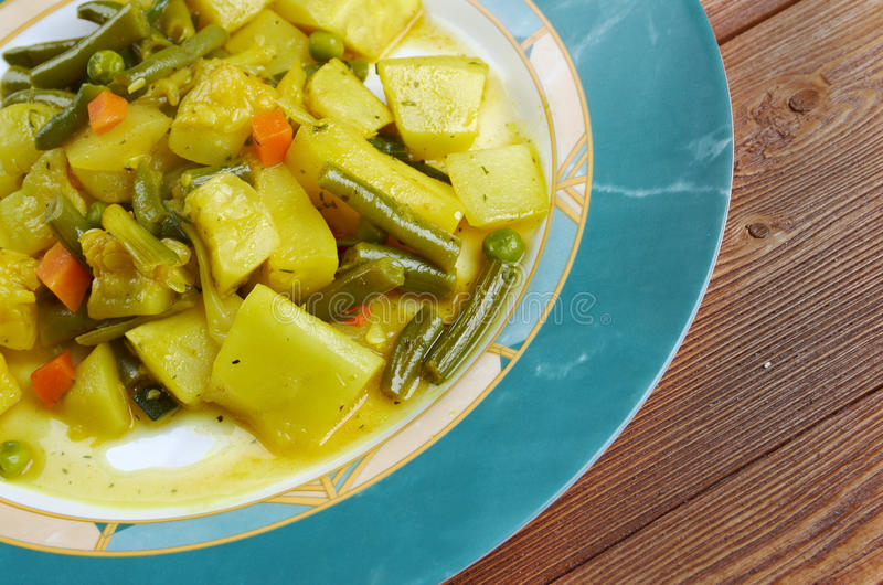 Zucchine im umido lizenzfreie stockfotos