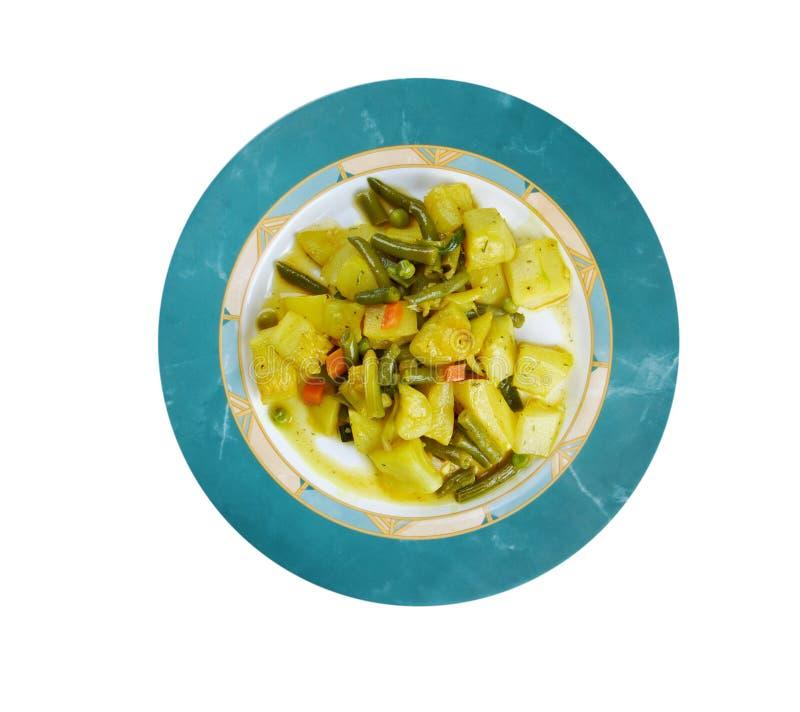 Zucchine im umido stockfoto