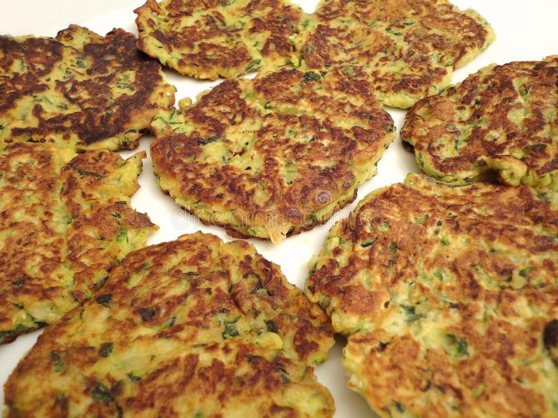 Download Zucchini Cakes stock image. Image of zucchini, patties - 16011281