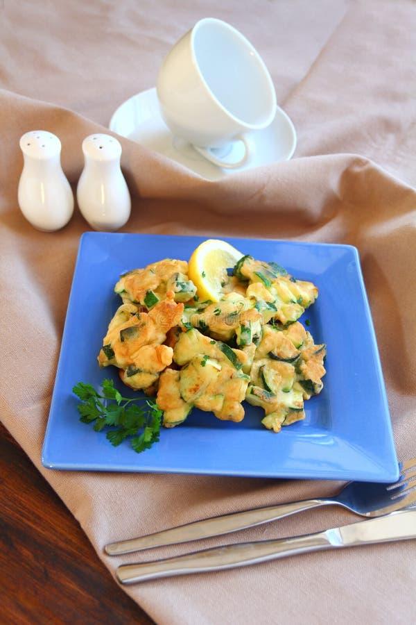 Download Zucchini Fritters stock image. Image of nourishment, cuisine - 27650347