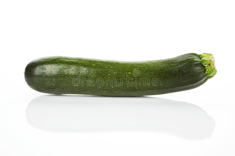 Zucchini isolated. stock photography
