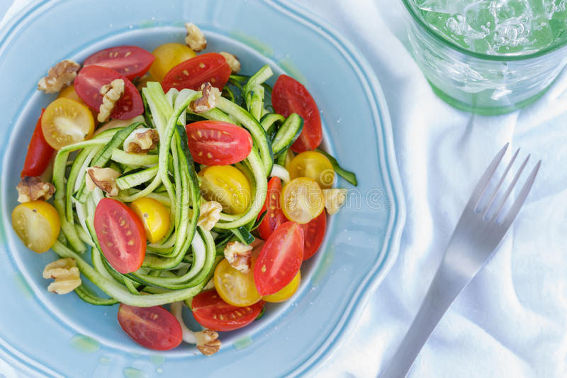 Zucchini kluski zdjęcie royalty free