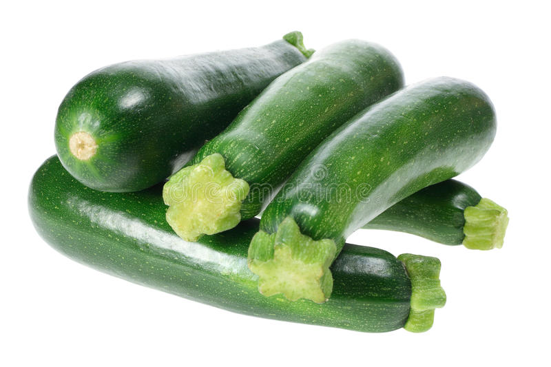 Zucchinis royalty free stock photo