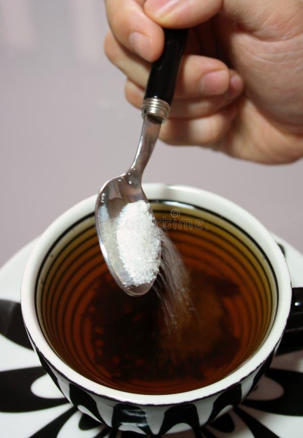 Zucker lizenzfreies stockbild