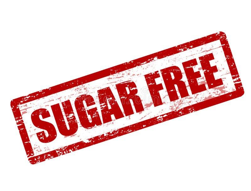 Zucker gibt Stempel frei lizenzfreie abbildung
