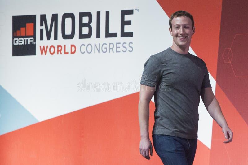 Zuckerberg 021 fotografia royalty free