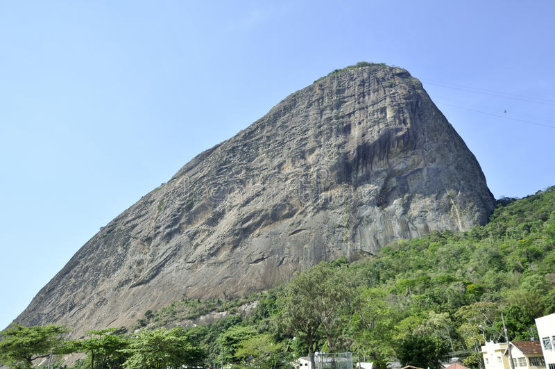 Zuckerlaib-Berg, Rio de Janeiro lizenzfreie stockfotografie