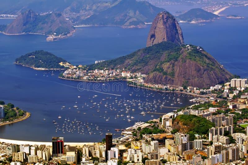 Zuckerlaib. Rio de Janeiro stockbild