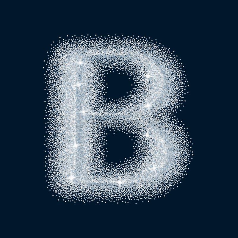 Zuckersüßer stilisierter realistischer Buchstabe Alphabet-Reihe Ein collec stock abbildung