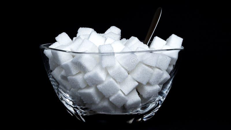 Zuckerschüssel stockfotografie