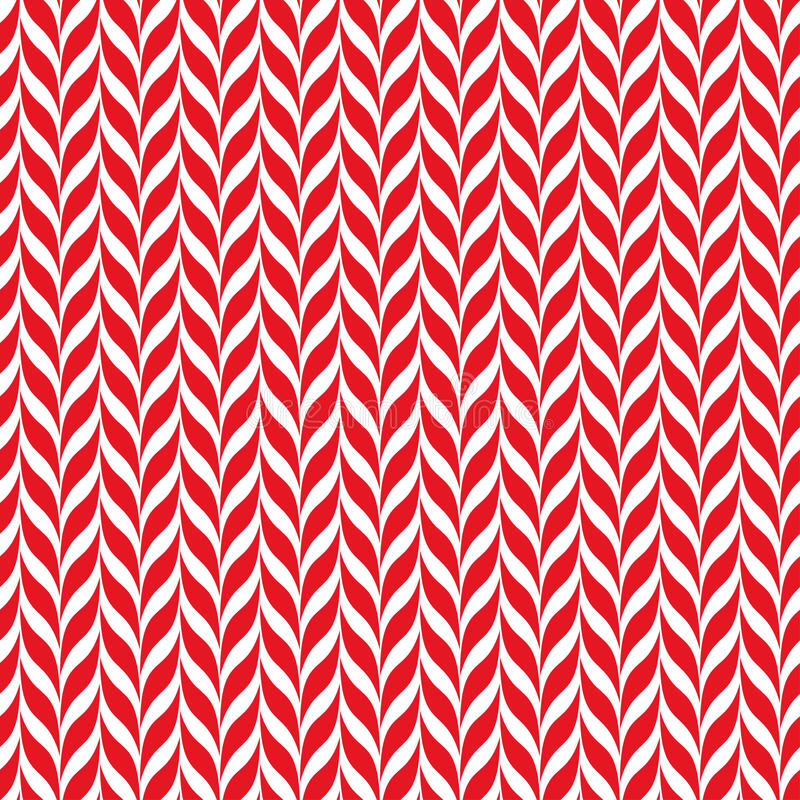 Zuckerstange-Vektorhintergrund Nahtloses Weihnachtsmuster mit den roten und weißen Zuckerstangestreifen lizenzfreie abbildung
